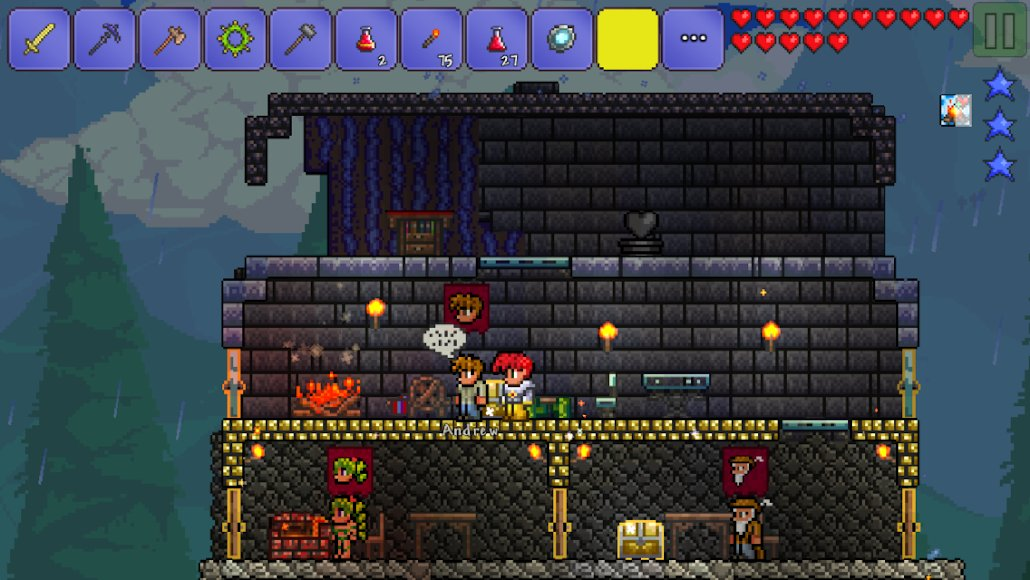 Download Terraria [FULL + MOD Free Craftting] 1.3.0.7.9 APK + Data for Android
