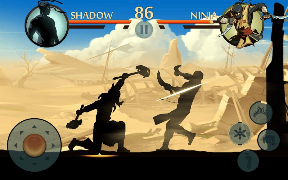 shadow fight 2 hack version unlimited money and gems download