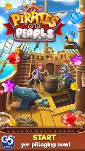Screenshot Pirates & Pearls™: A Treasure Matching Puzzle