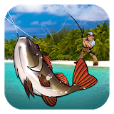 Icon Fishing Paradise 3D Free+
