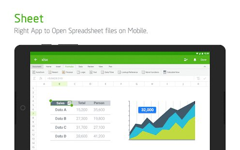 Screenshot Polaris Office - Word, Docs, Sheets, Slide, PDF