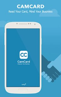 Screenshot CamCard - Business Card Reader