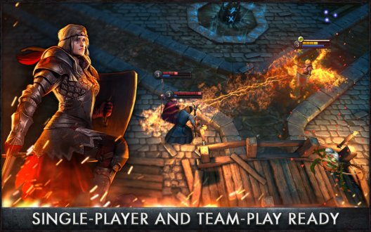Screenshot The Witcher Battle Arena