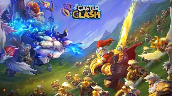 Screenshot Castle Clash