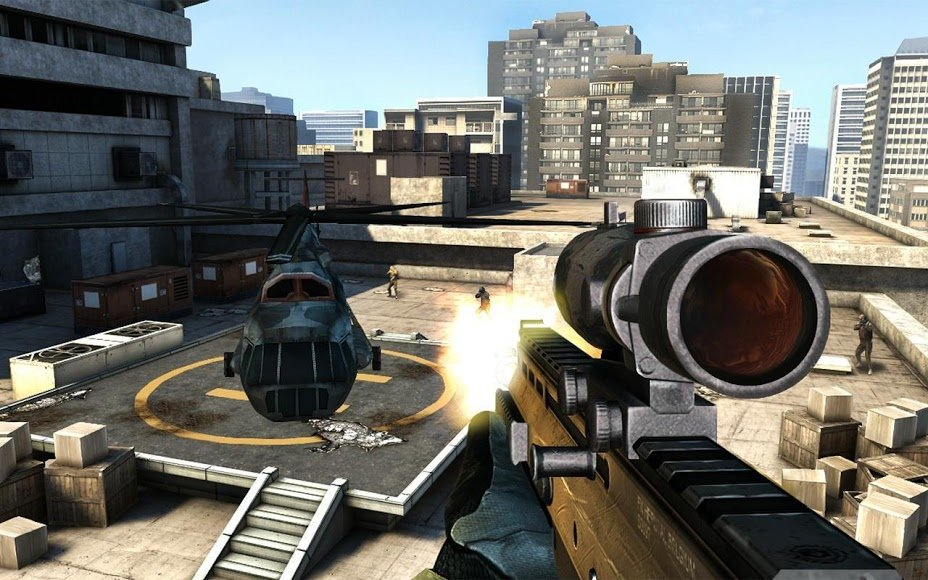 Modern Combat 3: Fallen Nation GRATIS!! - Game Android ...