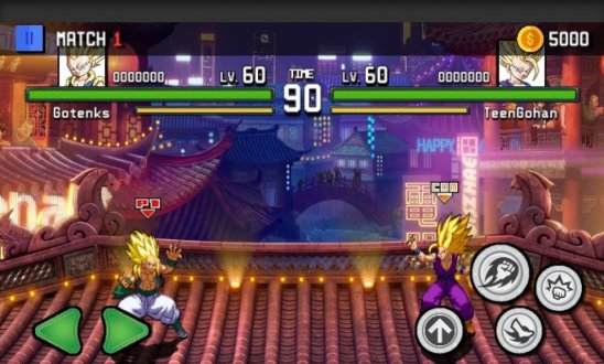 Screenshot Super Saiyan Goku: Dragon Z Fighter