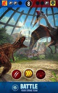 Screenshot Jurassic World Alive