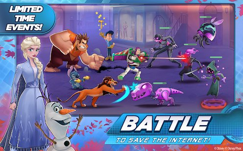 Screenshot Disney Heroes: Battle Mode