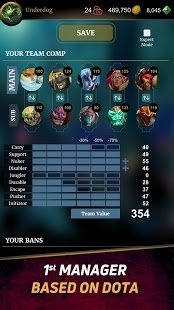 Screenshot DOTA Hero Manager for Dota 2