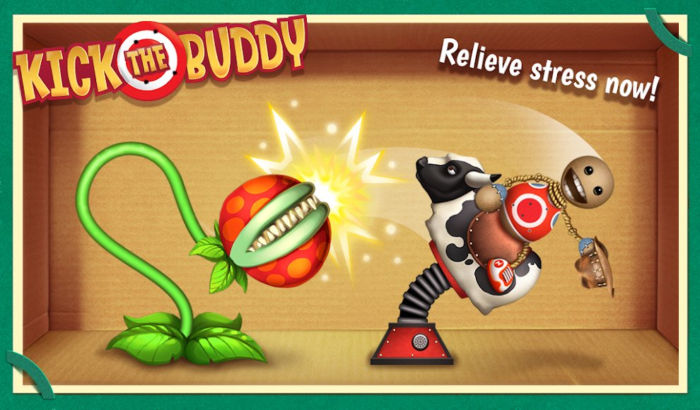 Download Kick The Buddy Hacked For Android