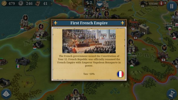 Screenshot European War 6: 1804