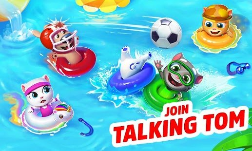Screenshot Talking Tom Pool