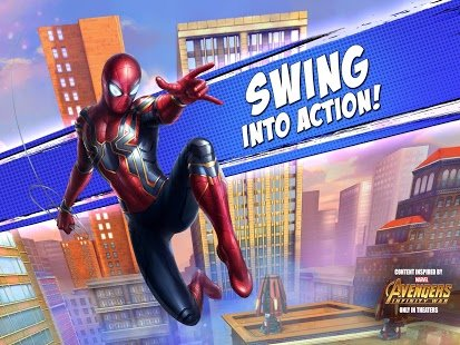Screenshot MARVEL Spider-Man Unlimited