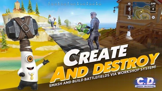 Screenshot Creative Destruction