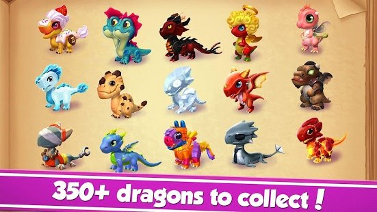 Screenshot Dragon Mania Legends