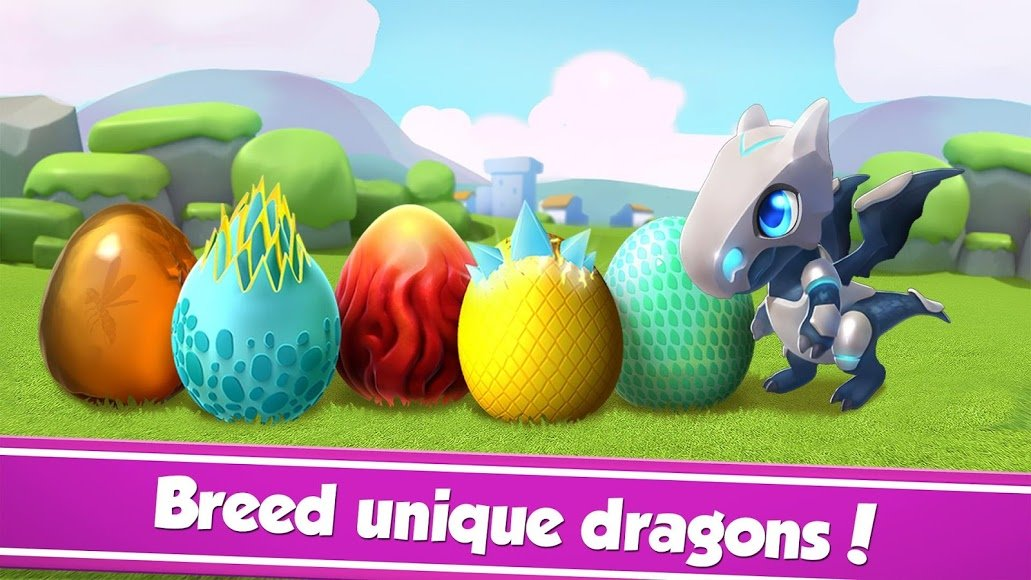 Download Dragon Mania Legends [MOD Money] 4 7 1b APK for Android