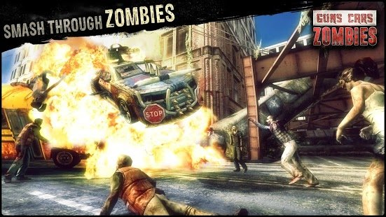 Screenshot Guns, Cars and Zombies