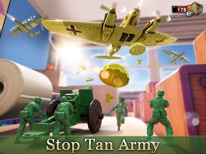 Screenshot Army Men Strike