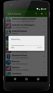 Screenshot Apk Extractor