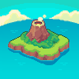 Icon Tinker Island - Pixel Art Survival Adventure