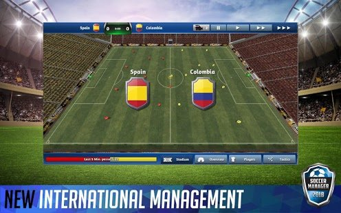 Screenshot Soccer Manager 2018