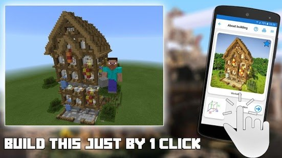 Screenshot Builder PRO for Minecraft PE