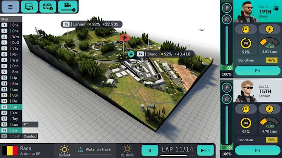 Screenshot Motorsport Manager Mobile 3