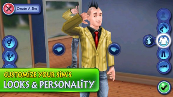 Screenshot The Sims 3