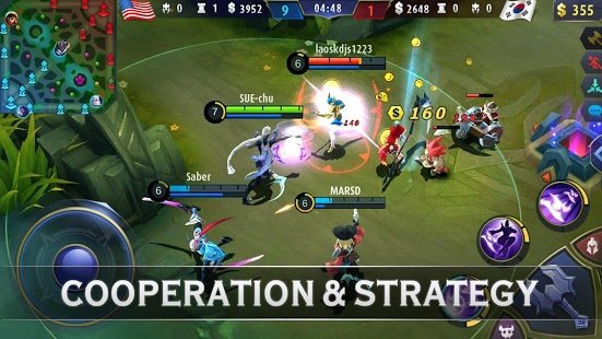 Screenshot Mobile Legends: Bang Bang