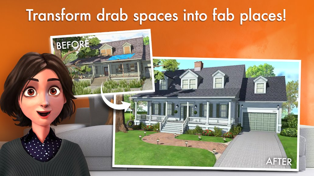 Download Home Design Makeover Mod Unlimited Money Diamonds Energy