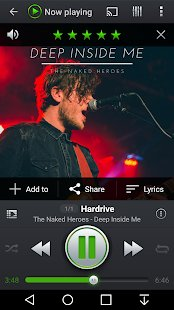 Screenshot PlayerPro Music Player