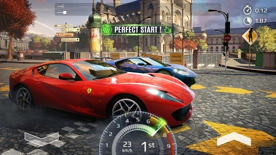Screenshot Asphalt Street Storm Racing