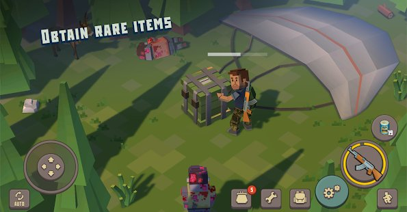 Screenshot Cube Survival Story