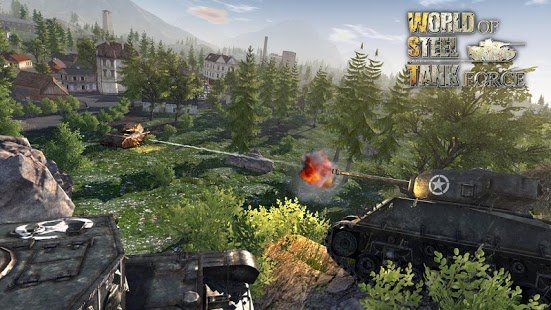 Screenshot World Of Steel : Tank Force