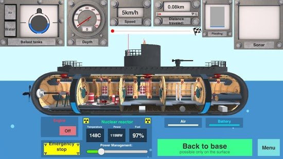 Screenshot Nuclear Submarine inc