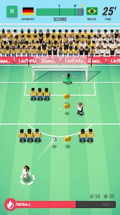 Screenshot Tiny Striker: Free Kick Soccer