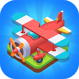 Icon Merge Plane - Click & Idle Tycoon