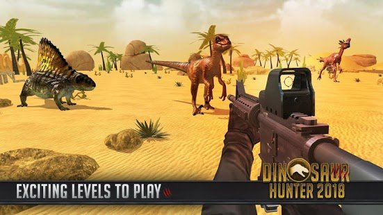 Screenshot Dinosaur Hunter 2018
