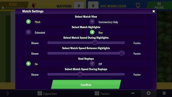 Screenshot Football Manager 2019 Mobile