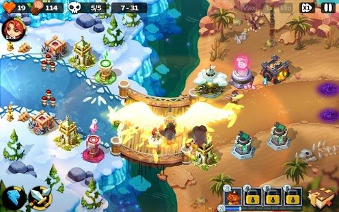 Screenshot Hero Defense King