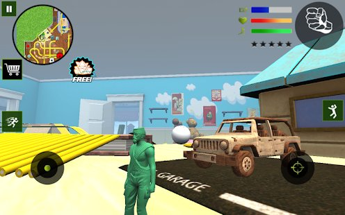 Screenshot Army Toys Town