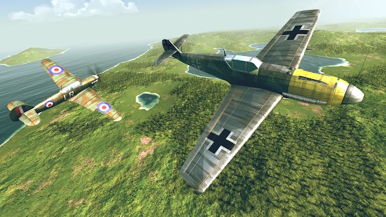 Screenshot Warplanes: WW2 Dogfight