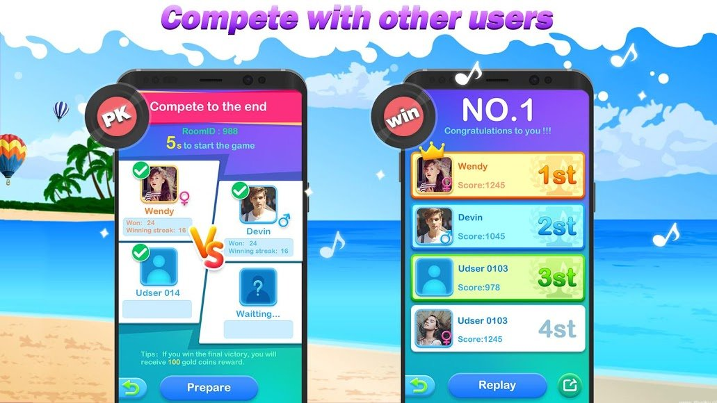 Download Dream Piano Tiles 2018 - Music Game [MOD Unlimited