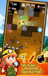 Screenshot Pocket Mine 2
