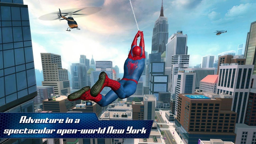 the amazing spider man mod apk download for android