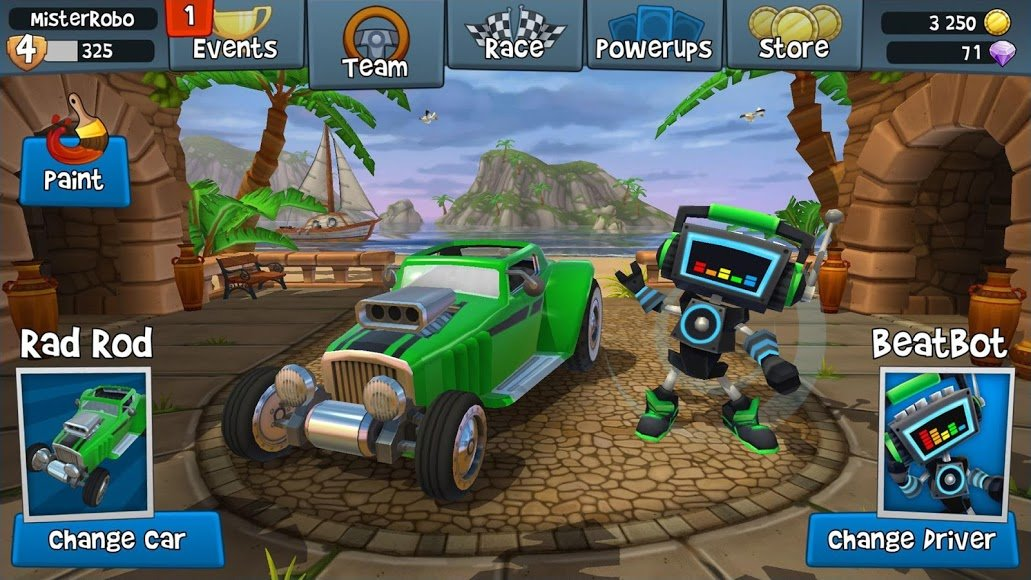 Download Beach Buggy Racing 2 [MOD Money] 1 4 1 APK + Data for Android