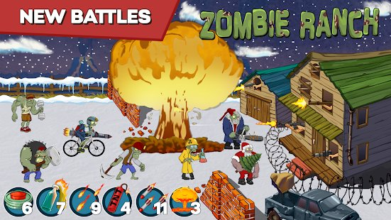 Screenshot Zombie Ranch - Battle with the zombie