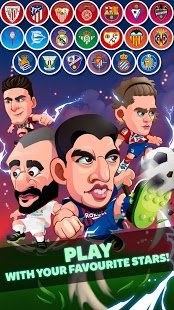 Screenshot Head Soccer LaLiga 2019