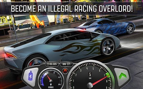 Screenshot Top Speed: Drag & Fast Racing