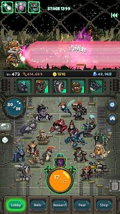 Screenshot World Beast War: Destroy the World in an Idle RPG